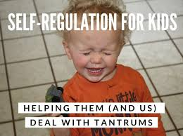 TAME THOSE TANTRUMS TEACHING CHILDREN SELF CONTROL